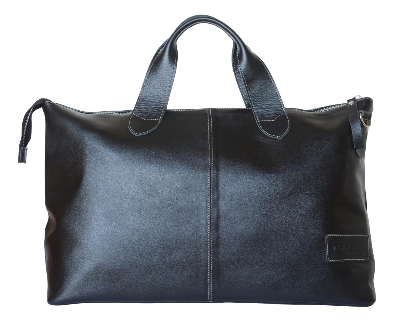 Дорожная сумка Cassolo Black 4002-01 кожаная дорожная сумка carlo gattini normanno 4007 4007 01