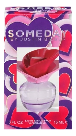 Justin Bieber Someday: парфюмерная вода 15мл