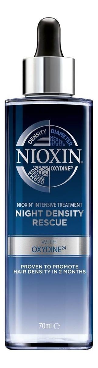 Ночная сыворотка для волос 3D Intensive Care Night Density Rescue 70мл