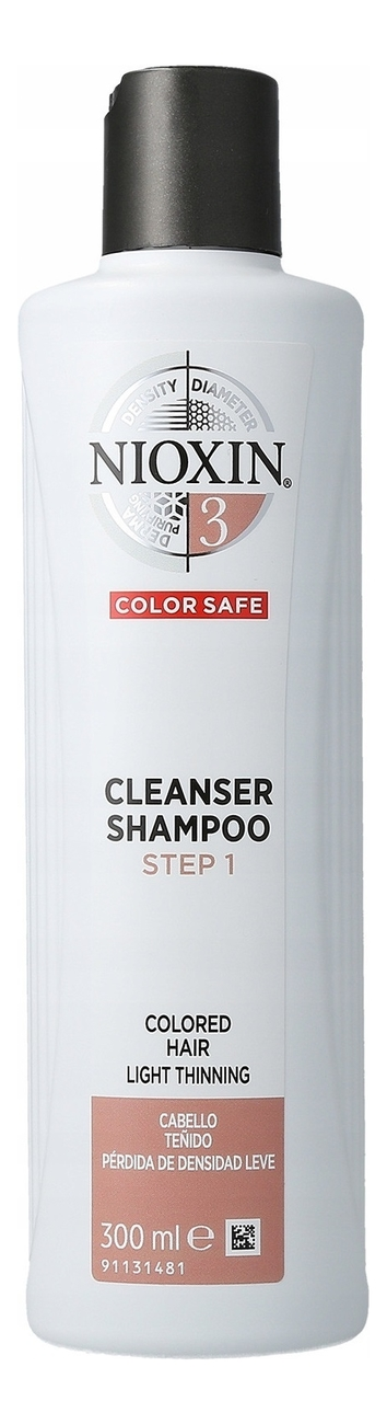 Очищающий шампунь для волос 3D Care System Cleanser Shampoo 3: Шампунь 300мл очищающий шампунь для волос 3d care system cleanser shampoo 4 шампунь 300мл
