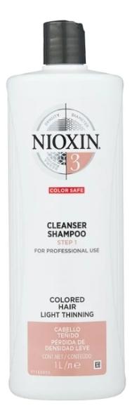 Очищающий шампунь для волос 3D Care System Cleanser Shampoo 3: Шампунь 1000мл