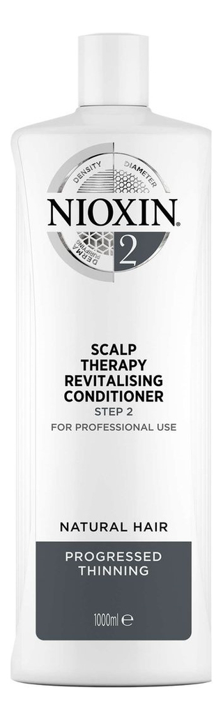 Увлажняющий кондиционер для волос 3D Care System Scalp Revitaliser Conditioner 2: Кондиционер 1000мл, NIOXIN  - Купить