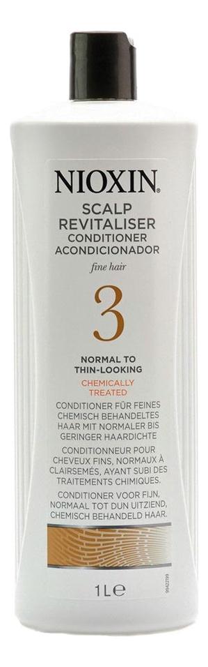 Увлажняющий кондиционер для волос 3D Care System Scalp Revitaliser Conditioner 3: Кондиционер 1000мл увлажняющий кондиционер для волос sp hydrate conditioner кондиционер 1000мл