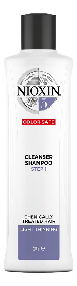 Очищающий шампунь для волос Care System Cleanser Shampoo 5: Шампунь 300мл очищающий шампунь для волос 3d care system cleanser shampoo 4 шампунь 300мл