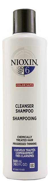 Очищающий шампунь для волос 3D Care System Cleanser Shampoo 6: Шампунь 300мл очищающий шампунь для волос 3d care system cleanser shampoo 4 шампунь 300мл