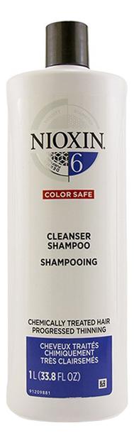 Очищающий шампунь для волос 3D Care System Cleanser Shampoo 6: Шампунь 1000мл очищающий шампунь для волос 3d care system cleanser shampoo 4 шампунь 300мл