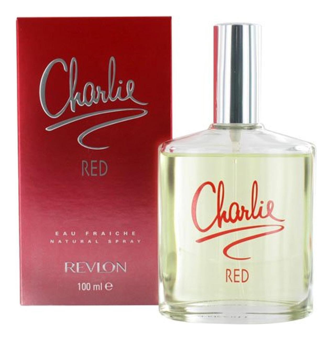 Revlon Charlie Red: освежающая вода 100мл