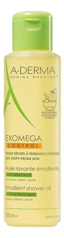 Смягчающее очищающее масло Exomega Control: Масло 500мл