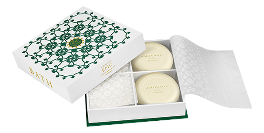 Amouage Epic for woman: мыло 4*50г