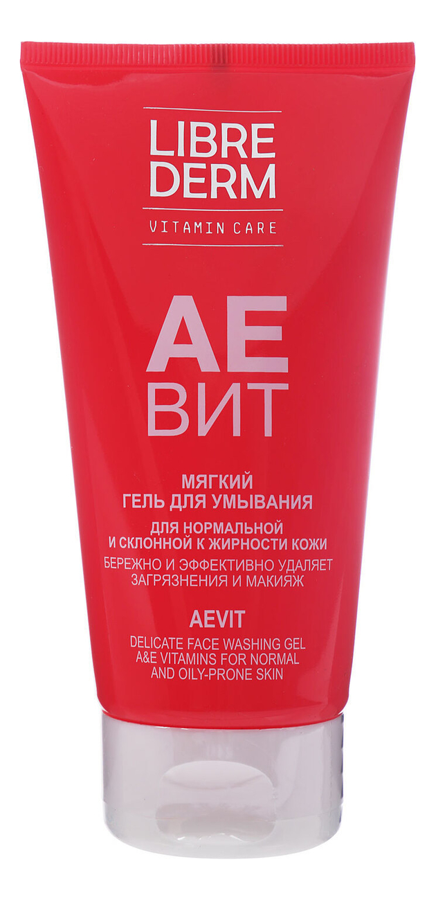 Мягкий гель для умывания Аевит Vitamin Care Delicate Face Washing Gel 150мл