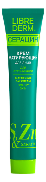 Матирующий дневной крем для лица Серацин Seracin Mattifying Day Cream 50мл недорого