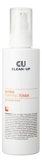 Купить Очищающий тонер для проблемной кожи AV Free Purifying Toner 180мл, CU Skin