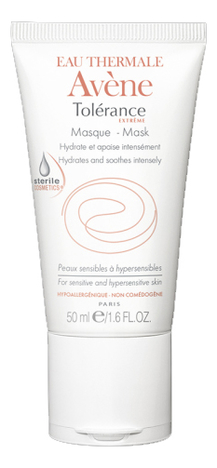 Купить Увлажняющая маска для лица Tolerance Extreme Mask 50мл, Avene