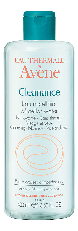 Мицеллярная вода для лица Cleanance Micellar Water: Вода 400мл