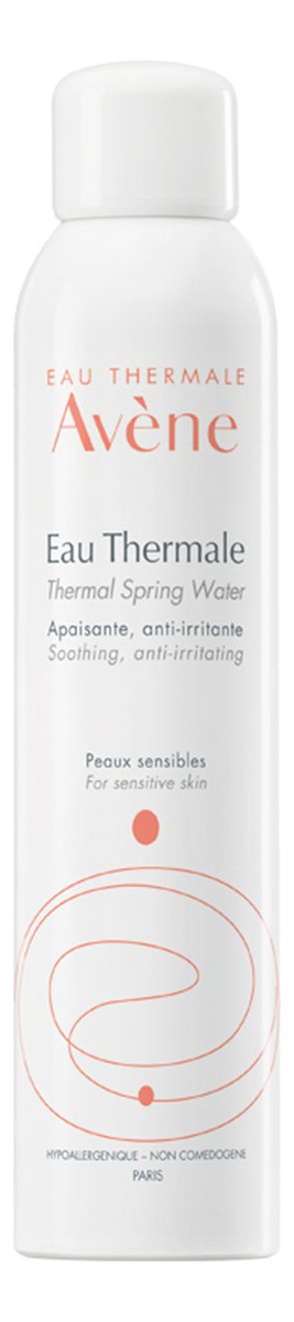 Термальная вода для лица и тела Eau Thermale Apaisant: Термальная вода 300мл vichy термальная вода eau thermale 150 мл