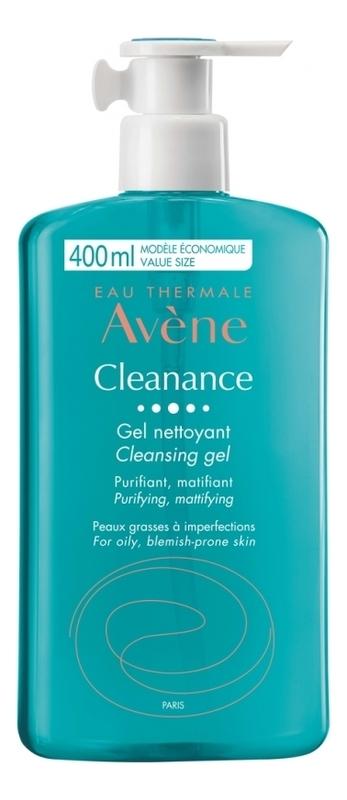 Купить Гель очищающий для лица Cleanance Cleansing Gel: Гель 400мл, Avene