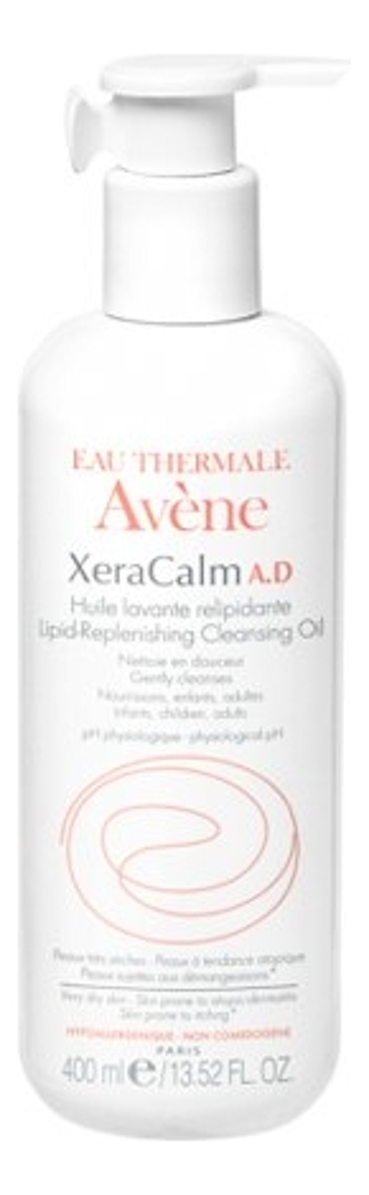 Купить Масло для душа липидовосполняющее XeraCalm A.D. Lipid-Replenishing Cleansing Oil 400мл, Avene