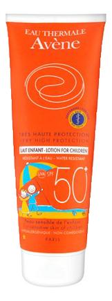 Купить Солнцезащитное молочко для тела Peaux Sensibles Tres Haute Protection Lait Enefant SPF50+ 250мл, Avene