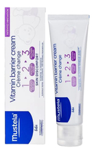 Mustela Крем под подгузник Bebe Vitamin Barrier Cream