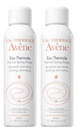 Термальная вода для лица и тела Eau Thermale Apaisant: Термальная вода 2*150мл vichy термальная вода eau thermale 150 мл