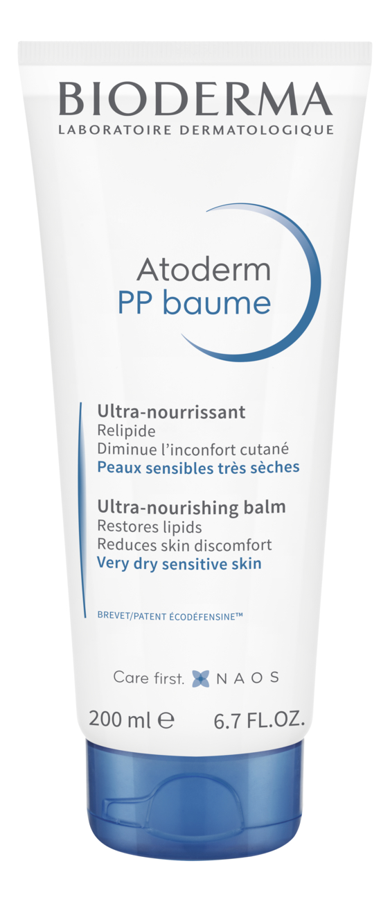 Бальзам для лица и тела Atoderm PP Baume Ultra-Nourishing Balm 200мл bioderma atoderm creme ultra nourrissante