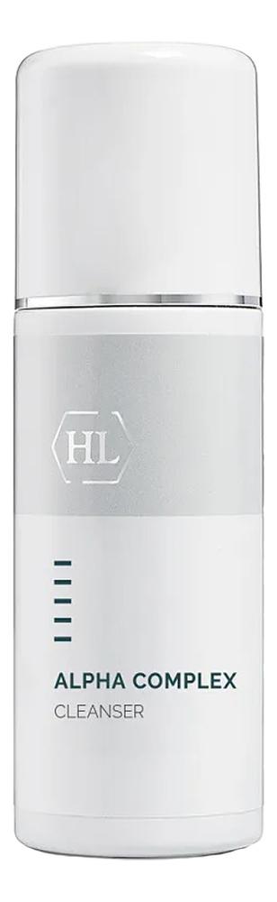 Деликатное очищающее средство для лица Alpha Complex Cleanser: Средство 250мл youthful gel cleanser holy land