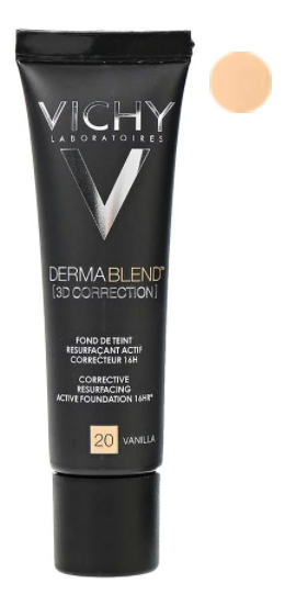 Корректирующая тональная основа Dermablend 3D Correction 30мл: 20 Vanilla dermablend 3d