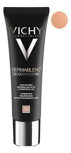 Корректирующая тональная основа Dermablend 3D Correction 30мл: 35 Sand dermablend 3d