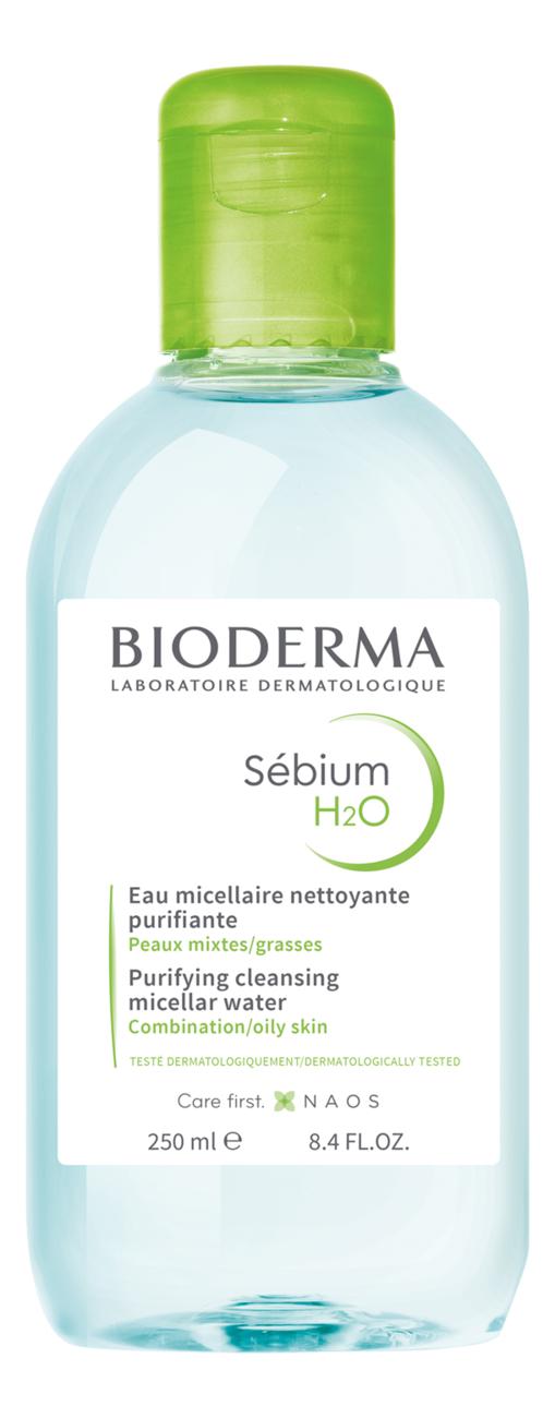Мицеллярная вода для лица Sebium H2O Solution Micellaire: Вода 250мл недорого