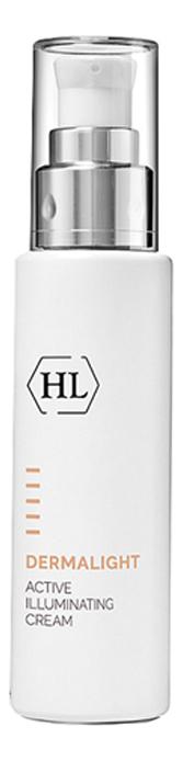 Активный осветляющий крем для лица Dermalight Active Illuminating Cream 50мл active illuminating cream активный осветляющий крем 50 мл holyland laboratories dermalight