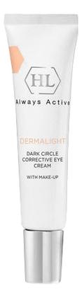Корректирующий крем для кожи вокруг глаз с тонирующим эффектом Dermalight Dark Circle Corrective Eye Cream 15мл крем с тонирующим эффектом эйвон