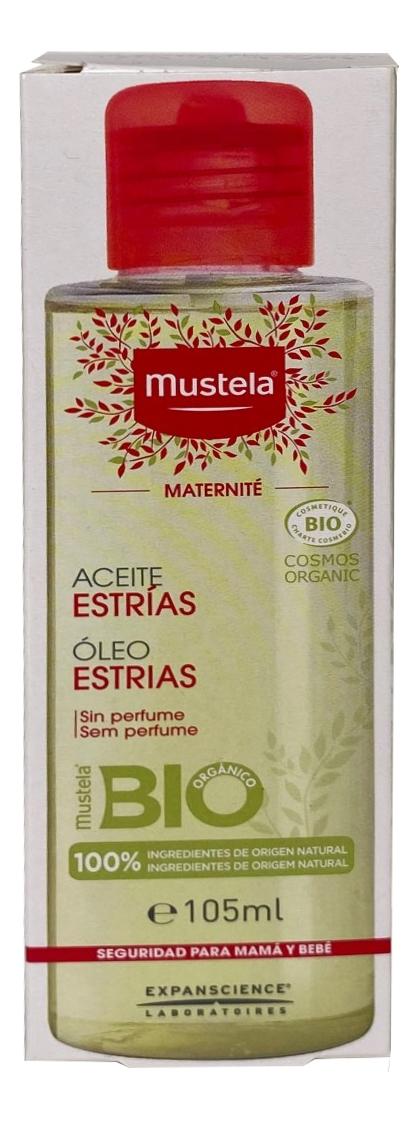 Масло для профилактики растяжек Maternite Prevention Vergetures 105мл масло weleda для профилактики растяжек юлмарт