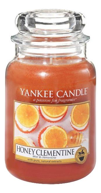 Ароматическая свеча Honey Clementine: Свеча 623г свеча от комаров argus