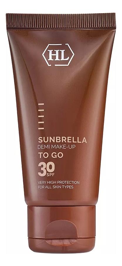 Солнцезащитный крем для лица с тонирующим эффектом Sunbrella Demi Make-Up SPF30: Крем 50мл крем с тонирующим эффектом эйвон