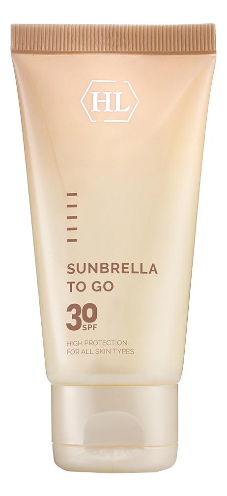 Солнцезащитный крем для лица Sunbrella To Go Broad Spectrum Sun Protector SPF30: Крем 50мл солнцезащитный крем яндекс маркет