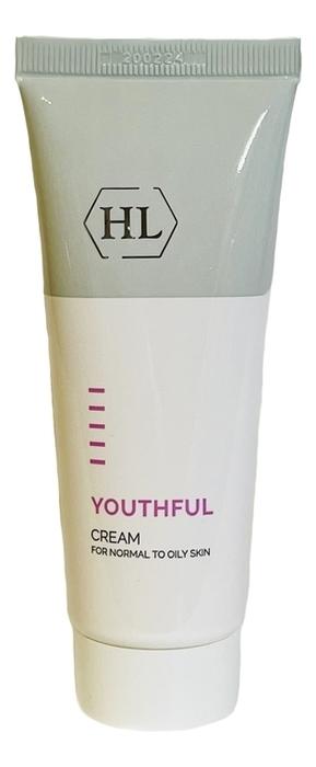 Увлажняющий крем для жирной кожи лица Youthful Cream 70мл youthful gel cleanser holy land