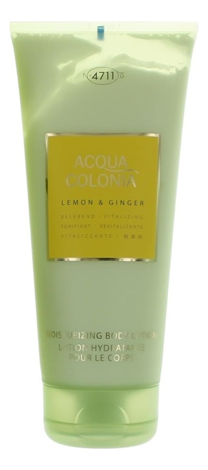 Купить Maurer & Wirtz 4711 Acqua Colonia Lemon & Ginger: лосьон для тела 200мл, Maurer & Wirtz 4711 Acqua Colonia Lemon & Ginger