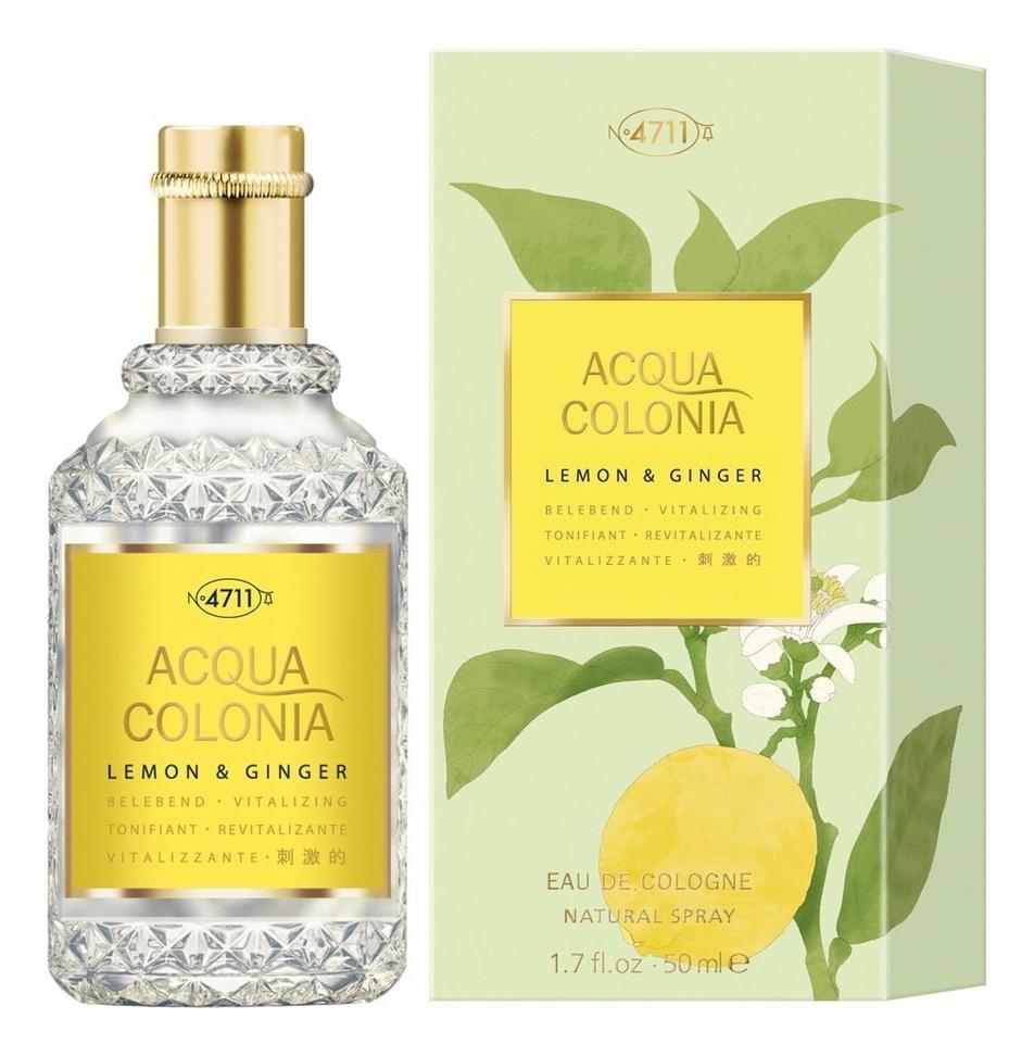 Купить Maurer & Wirtz 4711 Acqua Colonia Lemon & Ginger: одеколон 50мл, Maurer & Wirtz 4711 Acqua Colonia Lemon & Ginger