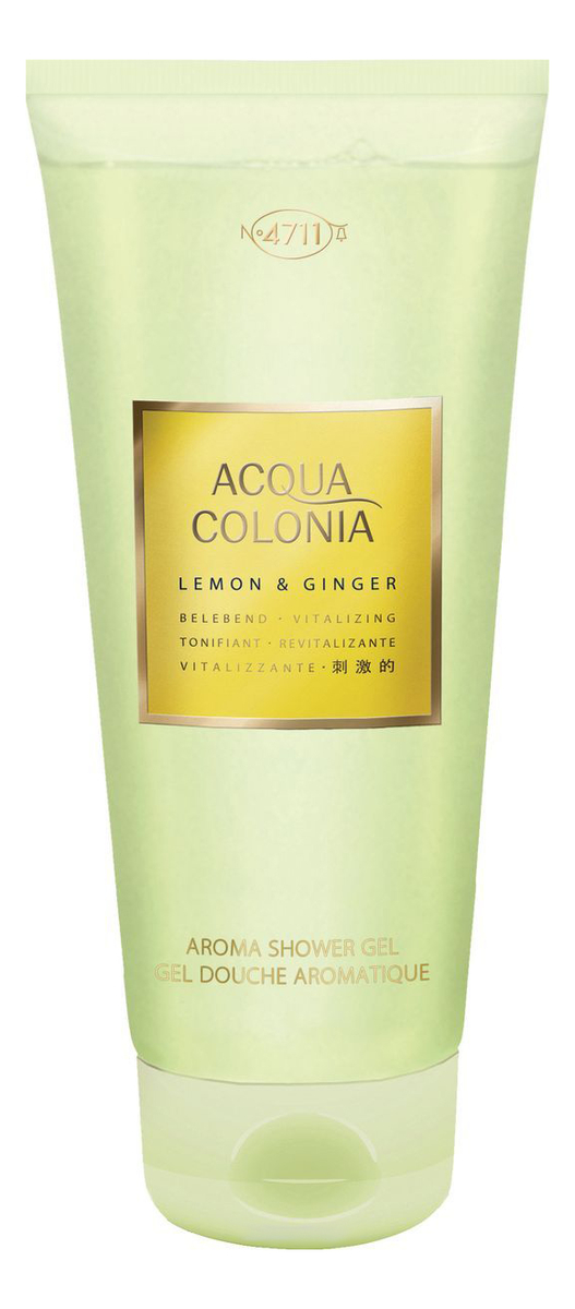 Купить Maurer & Wirtz 4711 Acqua Colonia Lemon & Ginger: гель для душа 200мл, Maurer & Wirtz 4711 Acqua Colonia Lemon & Ginger