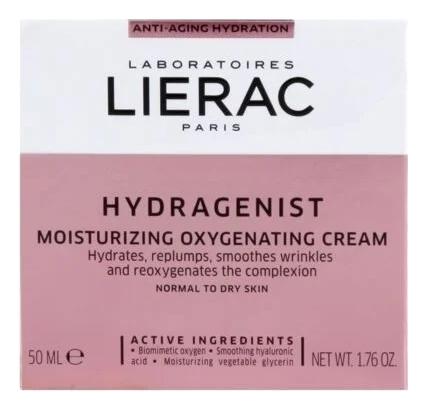 Увлажняющий кислородный крем для лица Hydragenist Creme Hydratant Oxygenant Repulpante 50мл lierac hydragenist serum hydratant 30mllierac