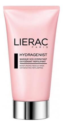 Увлажняющая кислородная маска для лица Hydragenist Masque SOS Hydratant Oxygenant Repulpant 75мл lierac hydragenist serum hydratant 30mllierac