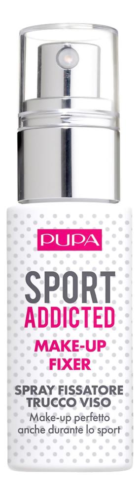 где купить Спрей для фиксации макияжа Sport Addicted Make Up Fixer 30мл дешево