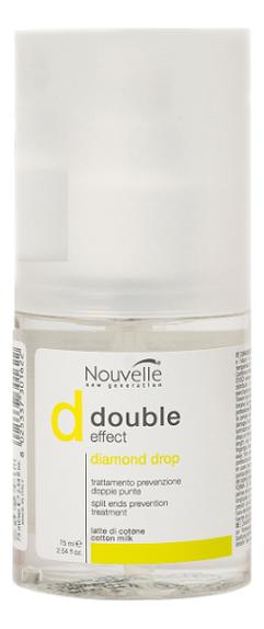 Флюид для придания блеска волосам Double Effect Diamond Drop 75мл
