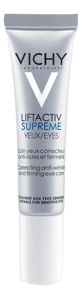 Крем против морщин для контура глаз Liftactiv Supreme Yeux 15мл крем vichy liftactiv supreme ночной 50 мл