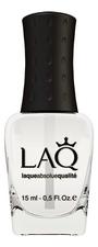 LAQ Матовое верхнее покрытие для ногтей Matte Top Coat Nail Care 15мл