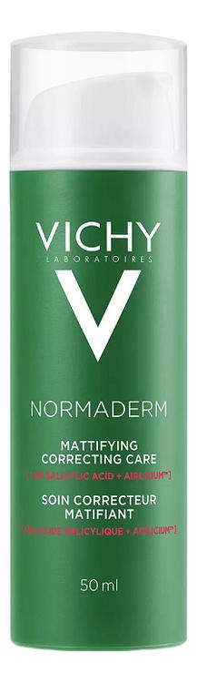 Крем против несовершенств кожи лица Normaderm Soin Embellisseur Anti-Imperfections Hydratation 24h 50мл тональный крем vichy normaderm teint цена