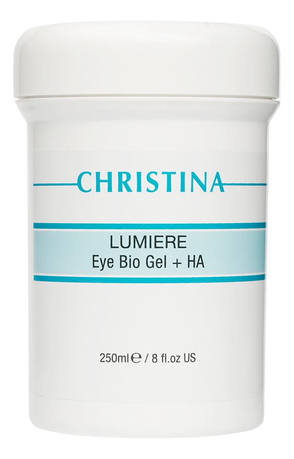 Био-гель для кожи вокруг глаз с гиалуроновой кислотой Lumiere Eye Bio Gel + HA 250мл: Био-гель 250мл недорого