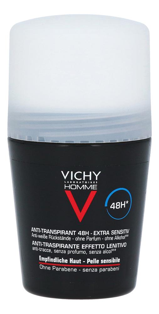 Шариковый дезодорант для чувствительной кожи Homme Deodorant Anti-Transpirant 48H 50мл шариковый дезодорант vichy