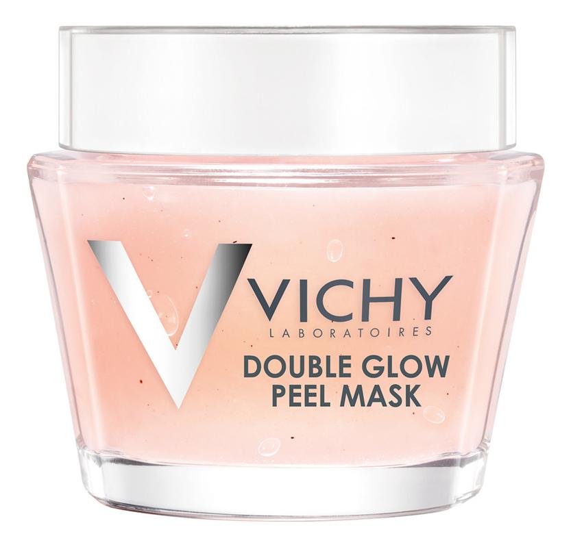 Маска-пилинг для лица Double Glow Peel Mask: Маска 75мл маска для лица vichy vichy vi055lwffkv5