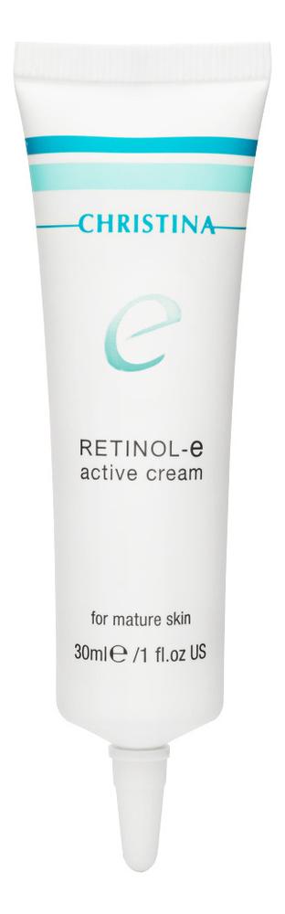 Активный крем с ретинолом для лица Retinol E Active Cream 30мл